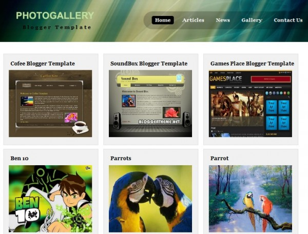 15 minimal blogger templates design freebies
