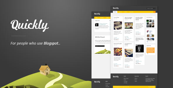 15 minimal blogger templates design freebies quickly responsive blogger template maxwellsz