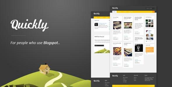 15 Minimal Blogger Templates – Design Freebies