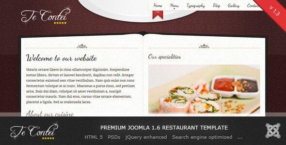 teContei-Joomla1.6-Restaurant