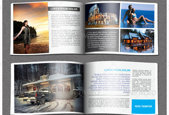 Great Travel Brochure Templates Design Freebies - Brochure booklet templates