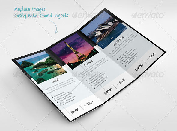 Travel Brochure Layout  NinjaTurtletechrepairsCo