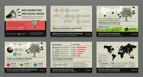 19 vintage powerpoint templates design freebies infographic survey powerpoint template toneelgroepblik Choice Image