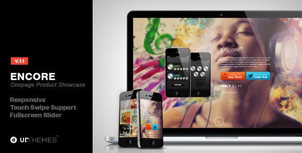 encore-onepage-product-showcase-parallax