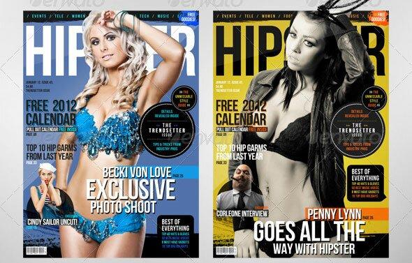 21 Magazine Templates A4 Format – Design Freebies