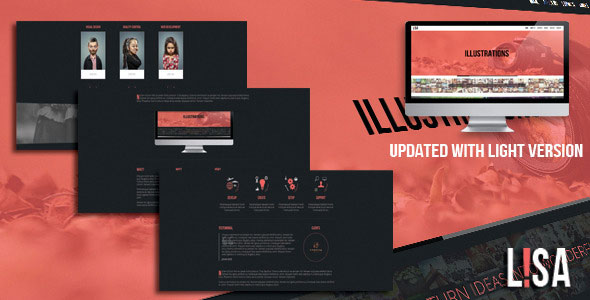 lisa-responsive-one-page-parallax-template
