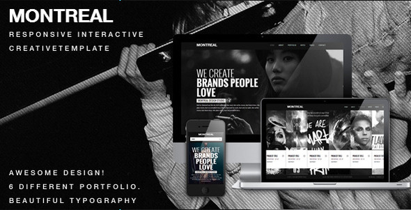 montreal-responsive-interactive-creative-template