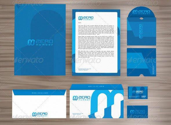 12 modern business identity stationery print templates design freebies