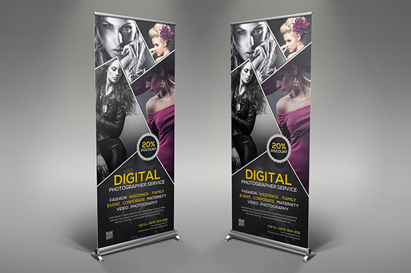 photography banner template