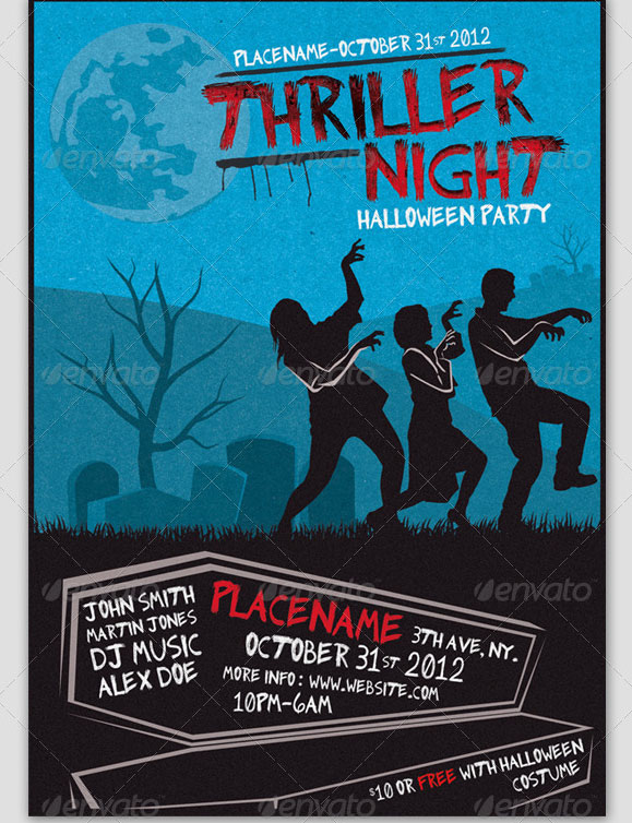 Zombie Flyer Template | Zombie Flyer Template Halloween Party Flyer Templates Zombie Flyer