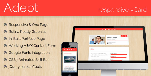 adept-responsive-vcard-template