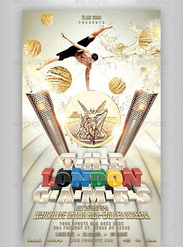 12 Great Games Sport Flyer Templates Design Freebies