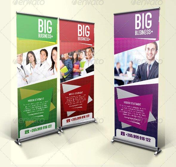 30 nice banner signage templates psd design freebies big business banner template flashek Choice Image