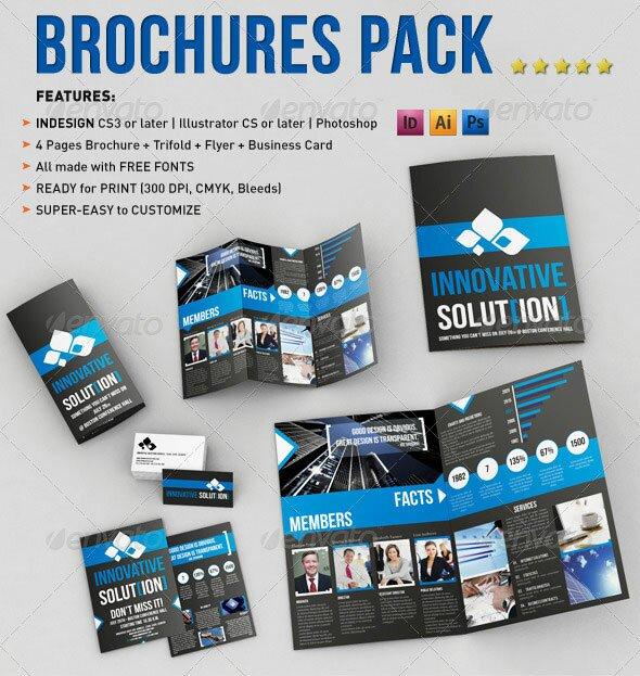 15 Business Trifod Brochure Bundles – Design Freebies