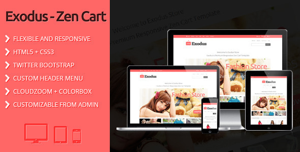 11 beautiful zen cart templates design freebies for Free responsive zen cart templates