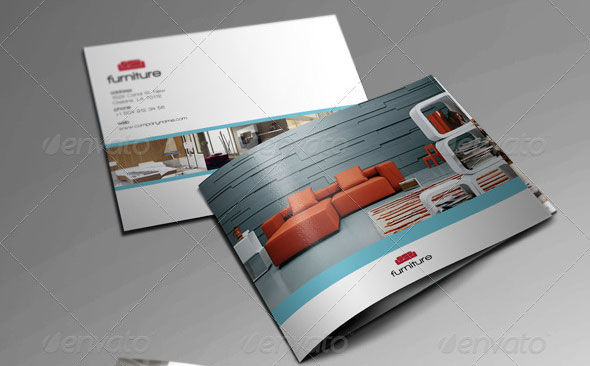 10 beautiful furniture brochure templates design freebies Free home design catalogs