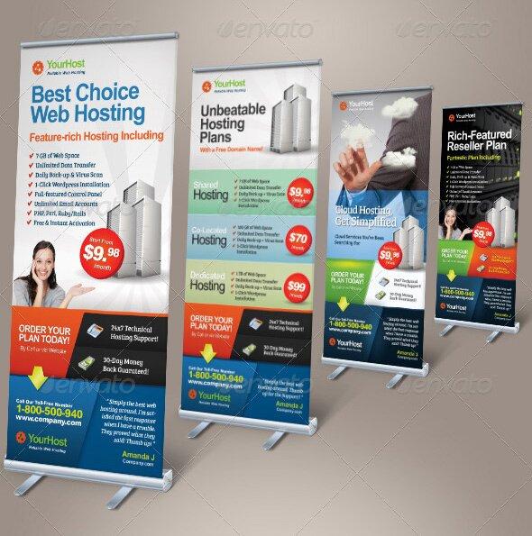 30 Nice Banner Signage Templates Psd Design Freebies