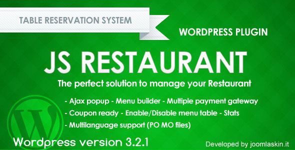 js-restaurant-reservation-plugin