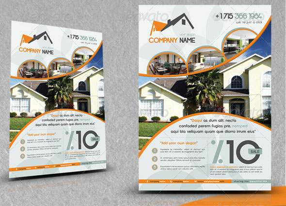 land-agent-business-flyer