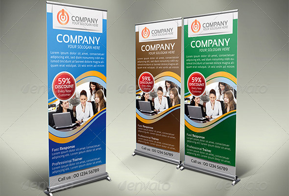 30 nice banner signage templates psd design freebies multipurpose business roll up banner vol 03 wajeb Image collections