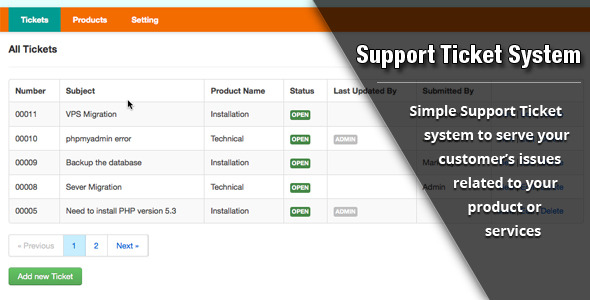 25 useful customer support ticket system php scripts
