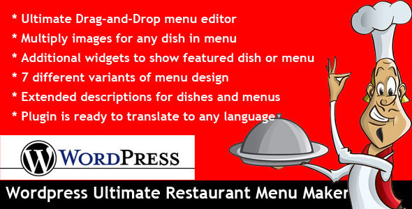 wordpress-ultimate-restaurant-maker