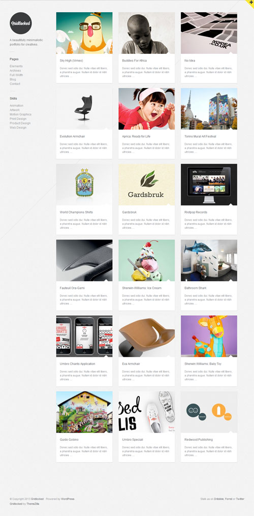 Gridlocked-minimal-portfolio-wordpress-theme