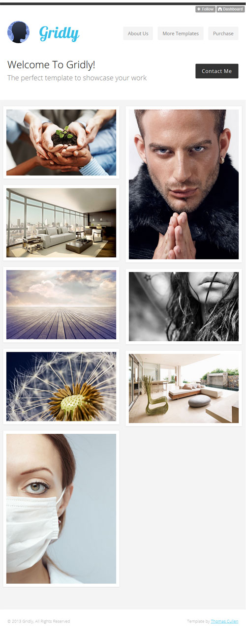 Gridly-minimal-responsive-tumblr-theme