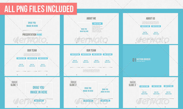 26 Minimal Presentation Templates – Design Freebies