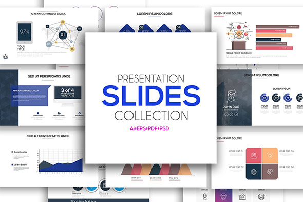26 minimal presentation templates – design freebies, Powerpoint templates
