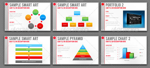 20 creative business powerpoint presentation templates design freebies
