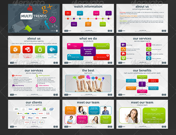 26 Minimal Presentation Templates Design Freebies – Powerpoint Presentations Template