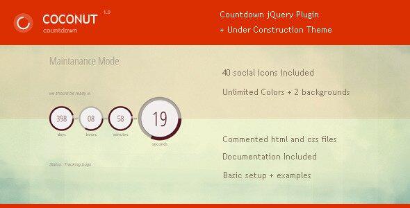 cononut-jquery-countdown-plugin