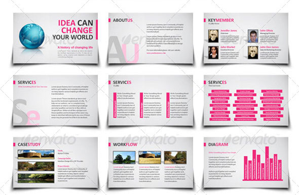 20 Creative Business Powerpoint Presentation Templates Design Freebies