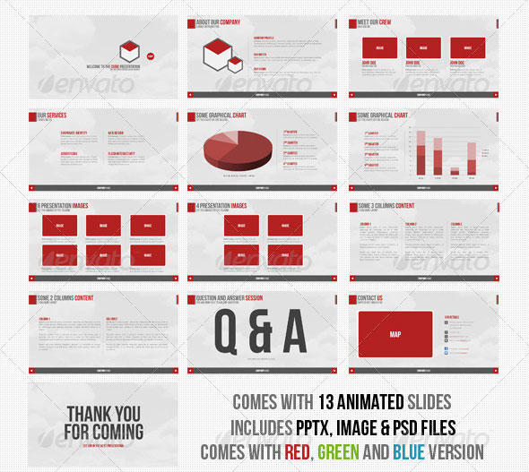 20 Creative Business Powerpoint Presentation Templates – Design