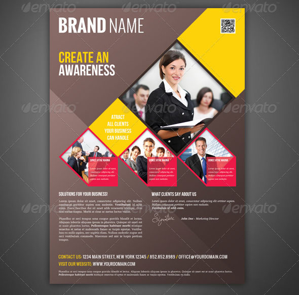 Dental Insurance Companies >> 33 Beautiful Flyer Magazine AD Templates – Design Freebies