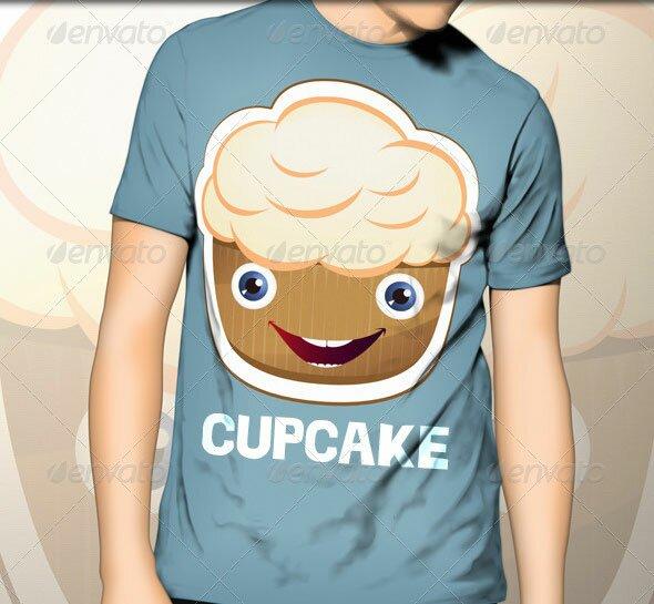 cupcake-t-shirt-template