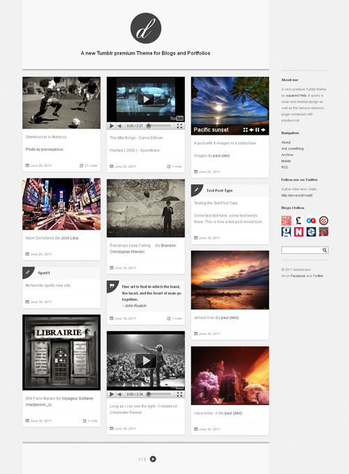 demoricano-minimal-tumblr-blog-portfolio-theme
