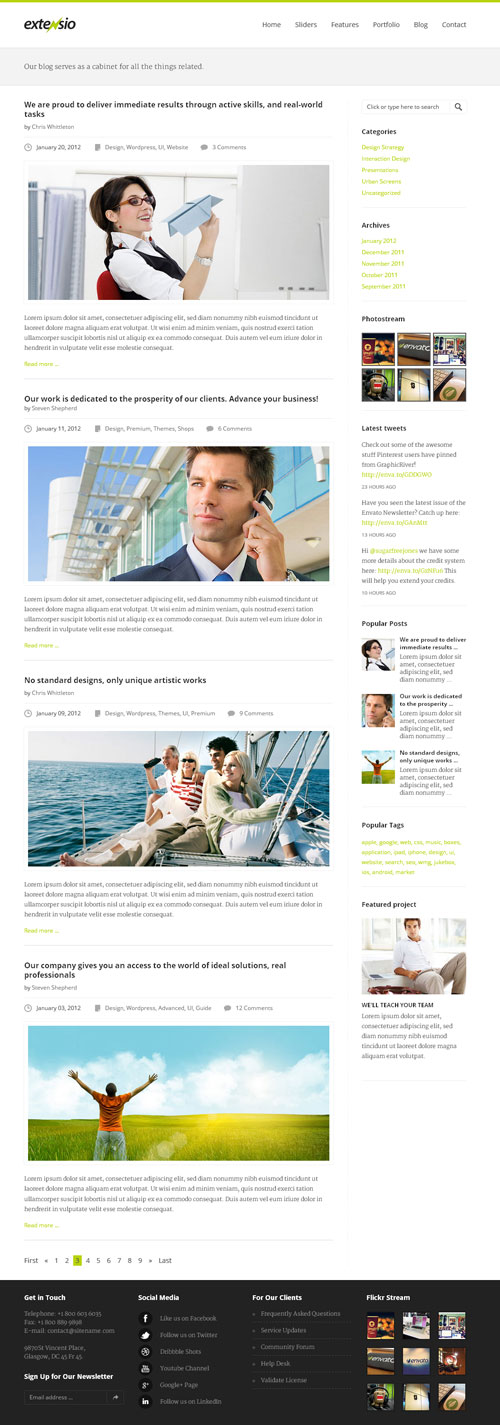 extenso-elegant-minimal-business-wordpress-theme