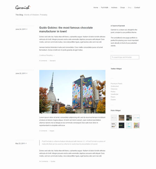 garnish-responsive-minimal-blog-theme