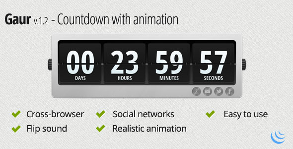 gaur-countdown-animation