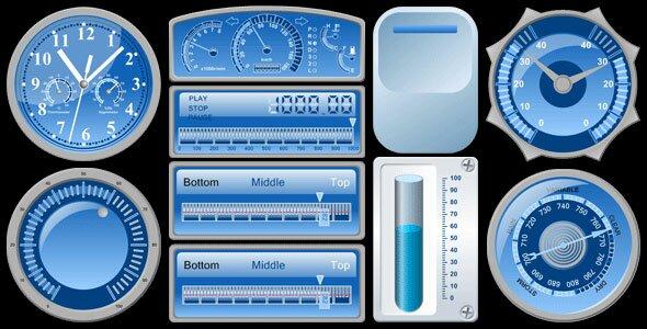 html5-js-gauges-library
