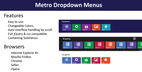 metro-navigation-menu