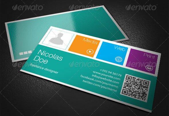 18 Metro Business Cards For Inspiration u2013 Design Freebies