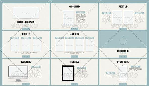 minimal powerpoint 2 - Minimalist Powerpoint Template Free 2