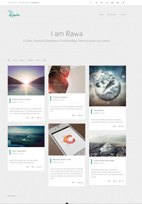 rawa-minimal-clean-responsive-wordpress-theme