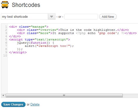 27 useful shortcode plugins design freebies
