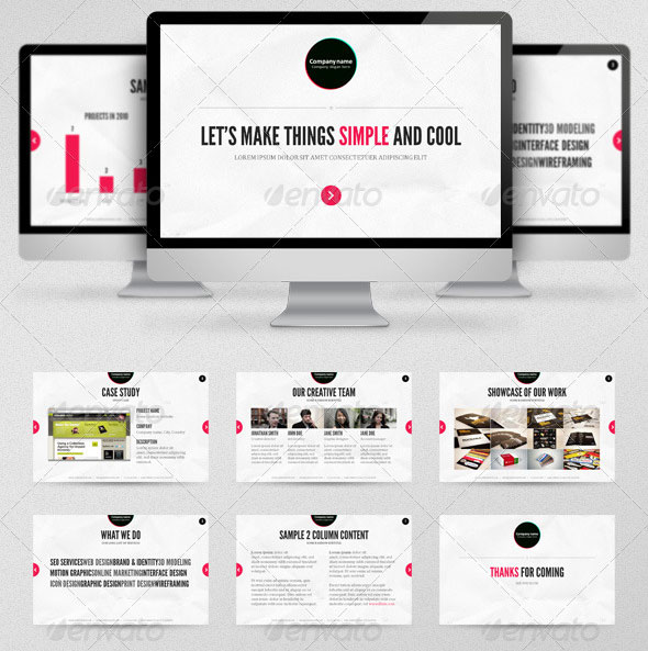 20 creative business powerpoint presentation templates design freebies simplio presentation template toneelgroepblik Images