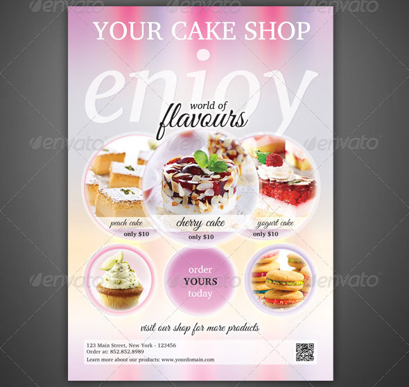 Cake Flyer Templates Ideas And Designs