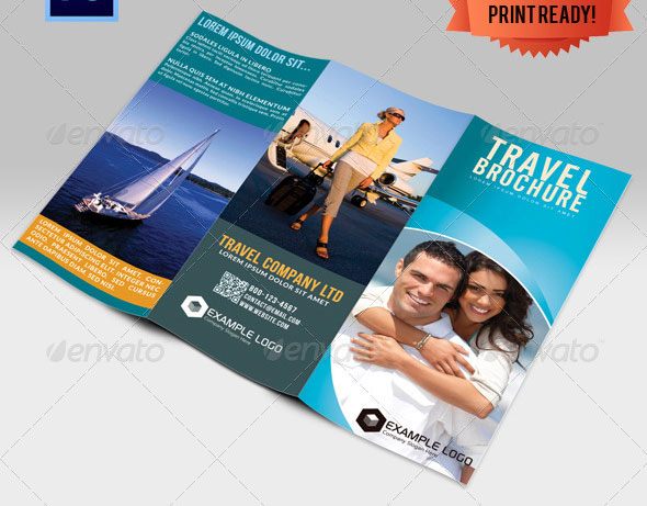 33 Creative Tri-Fold Brochure Templates (Psd & Indesign) – Design